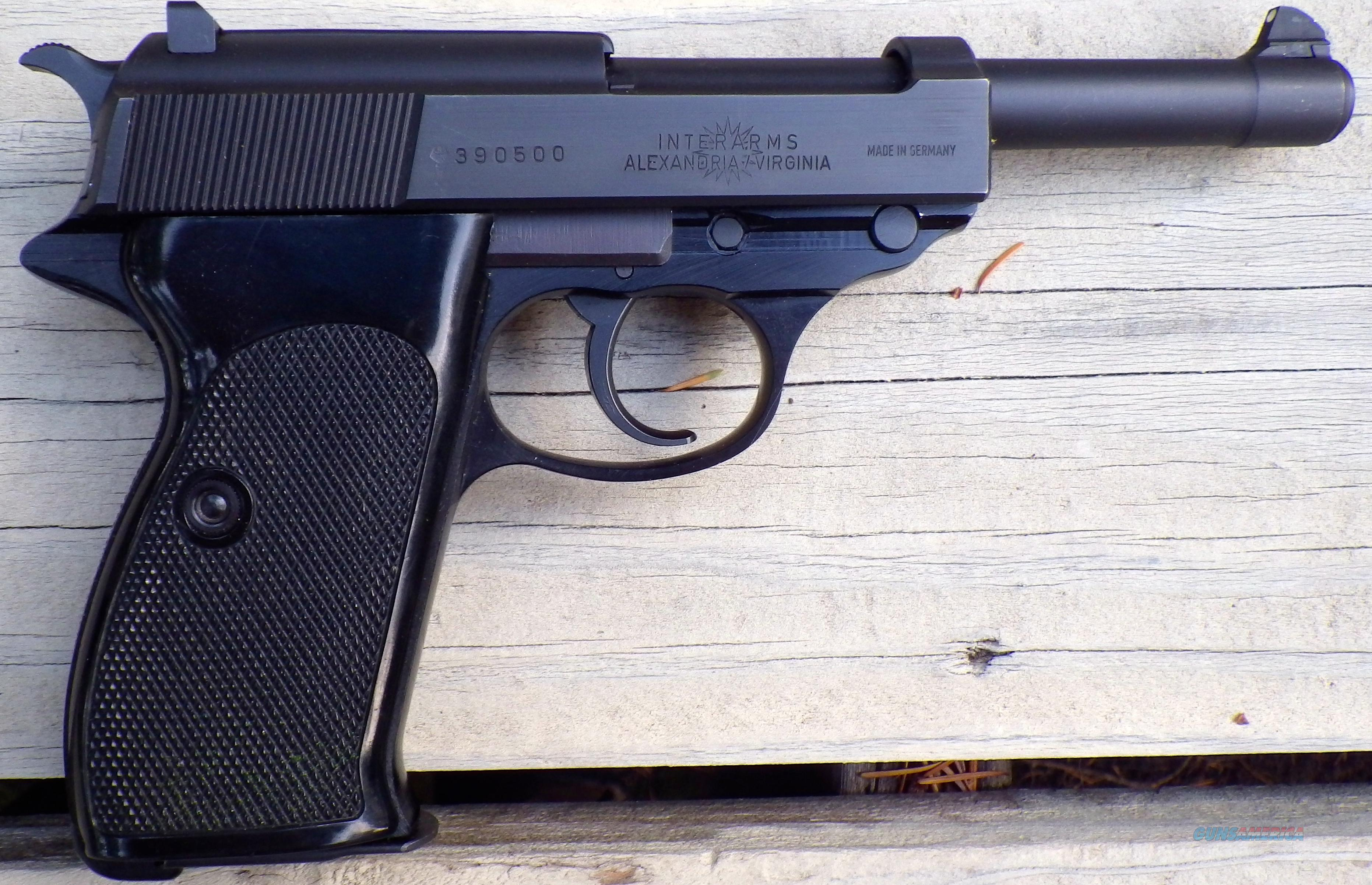 Walther P38 9mm, 3 mags, box, appears unfired, Interarms  Guns > Pistols > Walther Pistols > Post WWII > P38