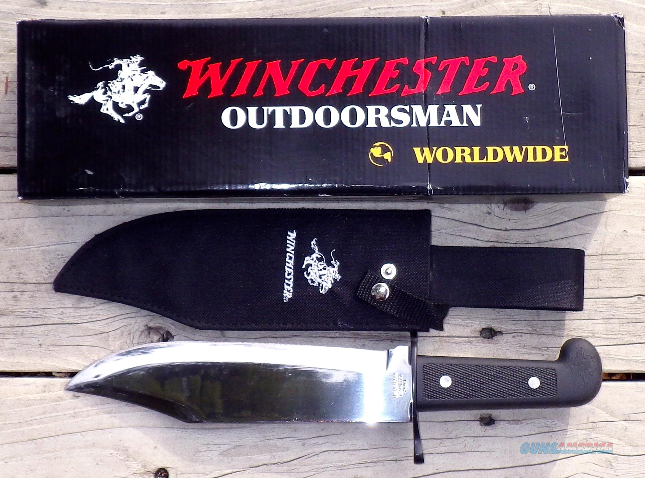 Winchester Bowie knife  Non-Guns > Knives/Swords > Knives > Fixed Blade > Imported