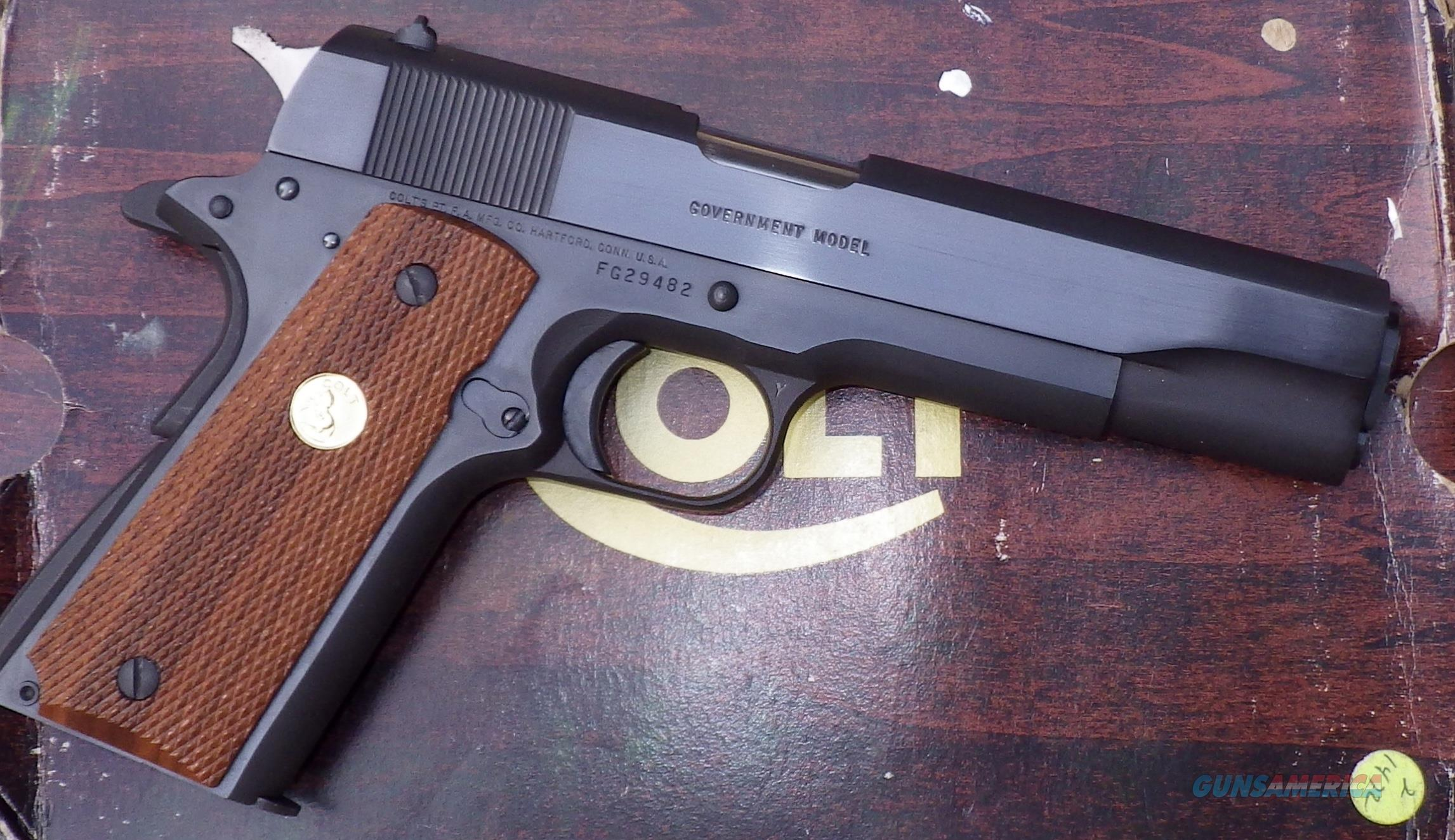 Colt 1911 .45 ACP MK IV Series 80 Government Model, New in Box, made 1985  Guns > Pistols > Colt Automatic Pistols (1911 & Var)