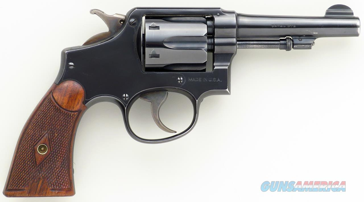 Smith & Wesson Hand Ejector (1905), 4th Change .32-20, 4-inch, 141153, 85%  Guns > Pistols > Smith & Wesson Revolvers > Pre-1945