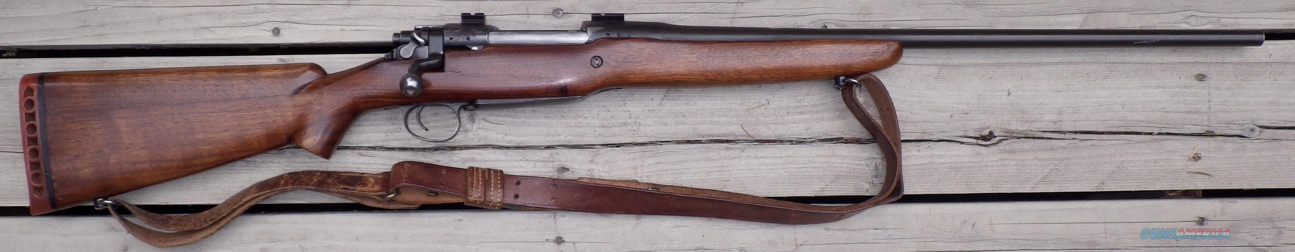 Winchester Enfield 1917 sporterized .30-06 with bases  Guns > Rifles > Enfield Rifle