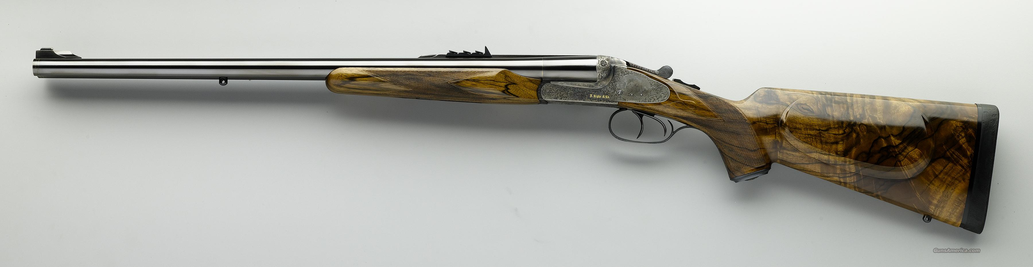 Rigby sidelock 470 NE, engraved by Milani  Guns > Rifles > Double Rifles (Misc.)