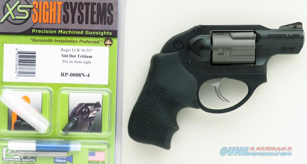Ruger LCR .357 Magnum, XS sights, 2010, new in the box  Guns > Pistols > Ruger Double Action Revolver > LCR