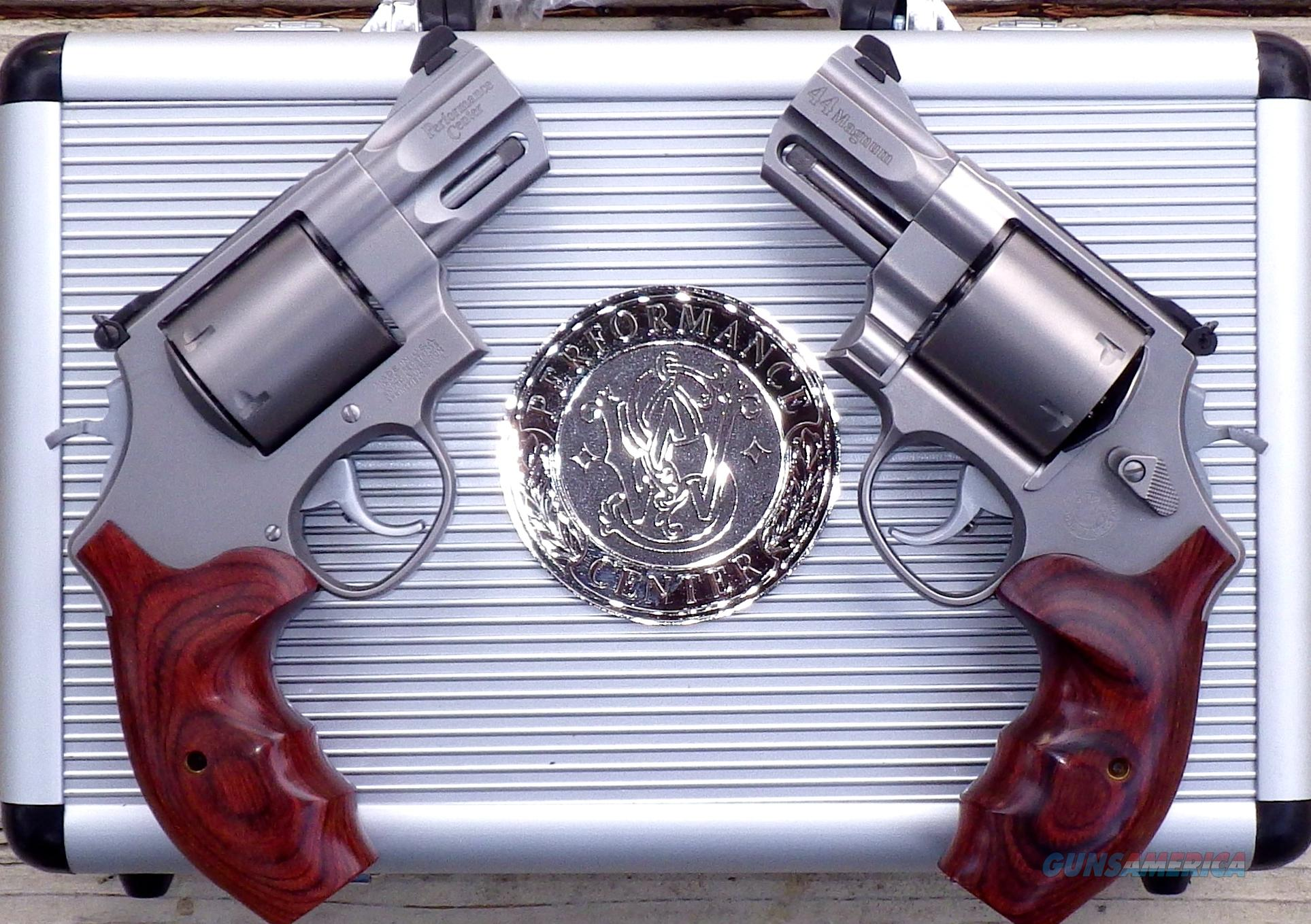 S&W 629 .44 Mag., Consecutive Serial Pair, 2 5/8, Light Hunter, Performance Center  Guns > Pistols > Smith & Wesson Revolvers > Performance Center