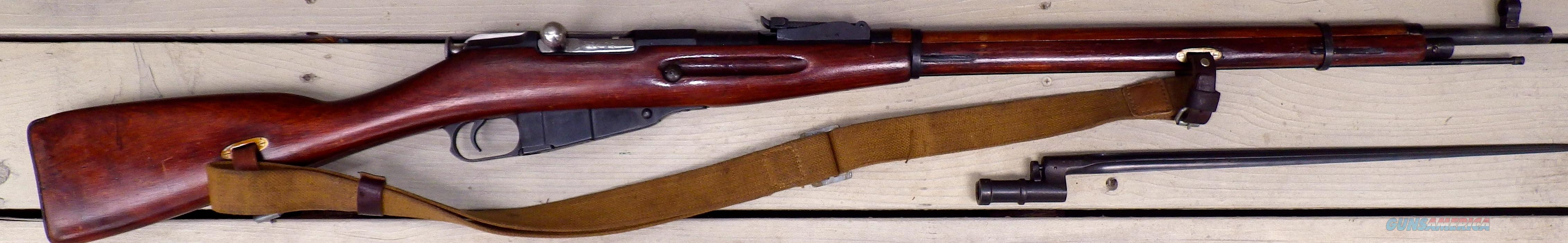 Russian M91/30, octagon receiver, straight grip, bayonet,   Guns > Rifles > Military Misc. Rifles Non-US > Other