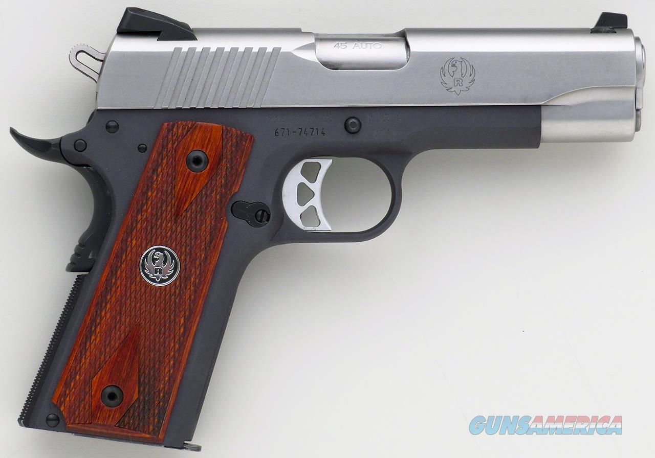 Ruger SR1911 .45 ACP, 4.25-inch, alloy, stainless, 98 percent  Guns > Pistols > Ruger Semi-Auto Pistols > 1911