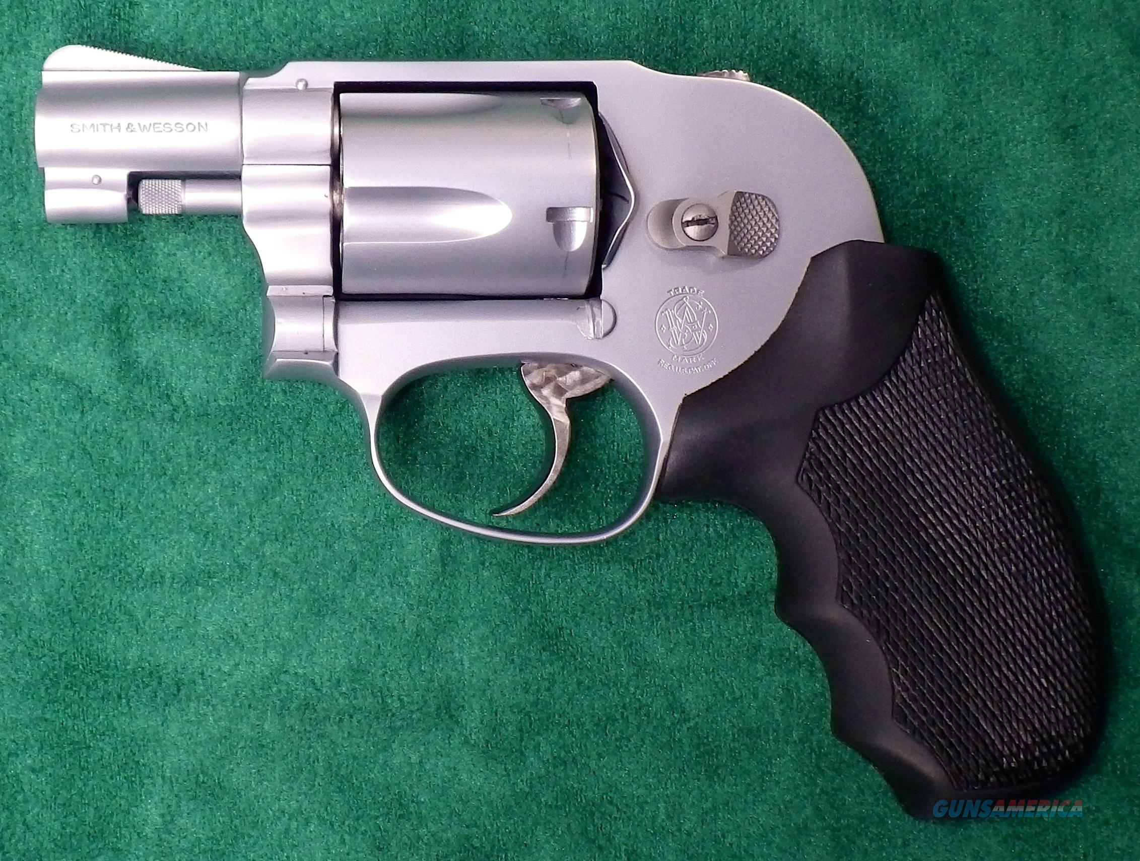 Smith & Wesson Model 49 .38 Special, stainless, shrouded, tuned  Guns > Pistols > Smith & Wesson Revolvers > Pocket Pistols