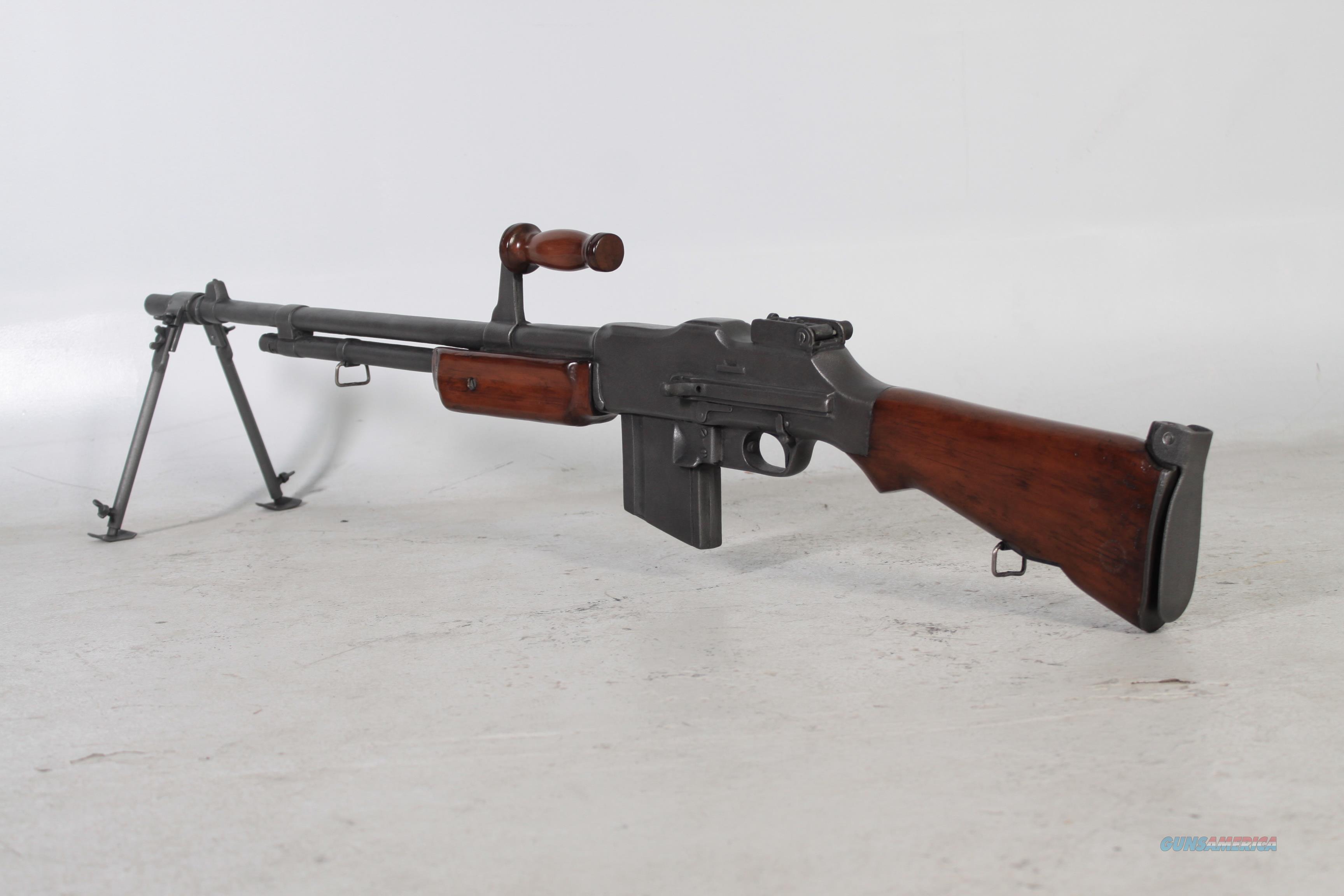 BAR Browning Automatic rifle Replica w/bipod  Guns > Rifles > Browning Rifles > Semi Auto > Semi-Auto Machine Gun