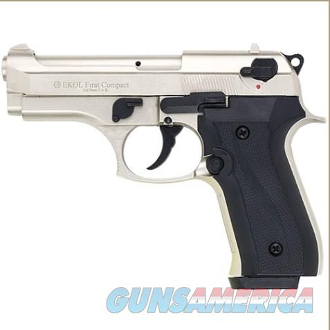 Firat Compac 92 Blank Firing Replica Gun Satin Finish  Non-Guns > Hobbies and Collectibles > Scale Models > Other/Misc