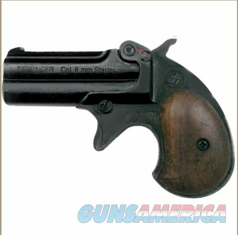 Old West Replica .22 Caliber Blank Firing Derringer Black Finish  Non-Guns > Hobbies and Collectibles > Scale Models > Other/Misc