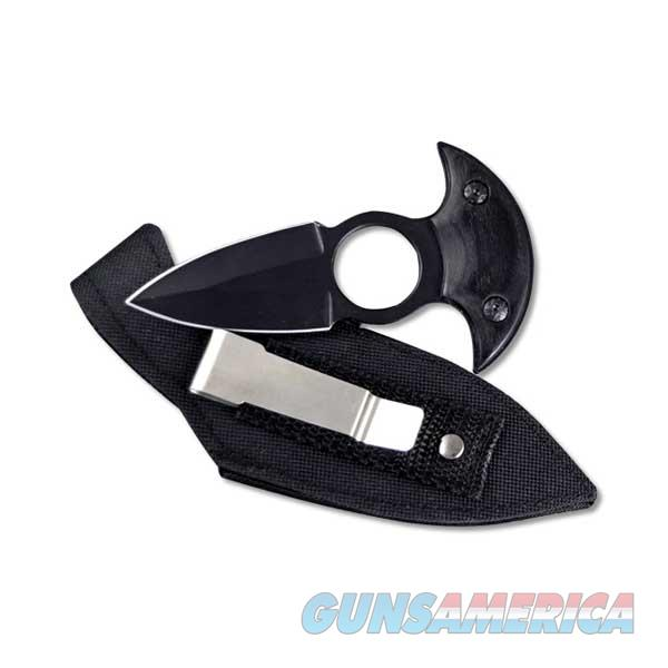 Absolute Fixed Push  Dagger, All Black w/Utility Sheath / E  Non-Guns > Knives/Swords > Knives > Fixed Blade > Imported