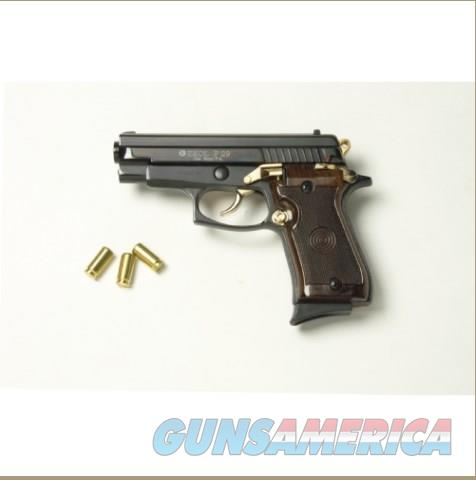 P29 Semi Automatic Blank Firing Pistol Black-Gold Finish  Non-Guns > Hobbies and Collectibles > Scale Models > Other/Misc
