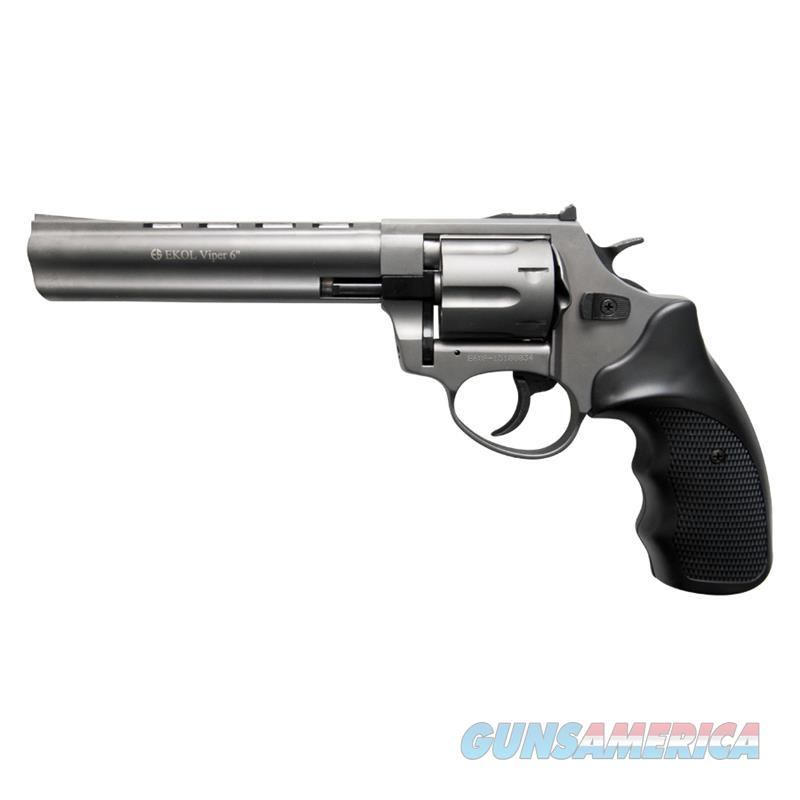Viper 6 Inch Barrel 9MM Blank Firing Revolver Fume Finish  Non-Guns > Hobbies and Collectibles > Scale Models > Other/Misc