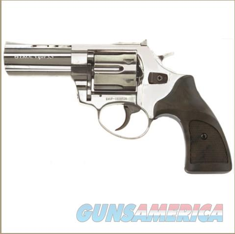 "Viper 3"" Barrel 9mm Blank Firing Revolver Nickel Finish  Non-Guns > Hobbies and Collectibles > Scale Models > Other/Misc"