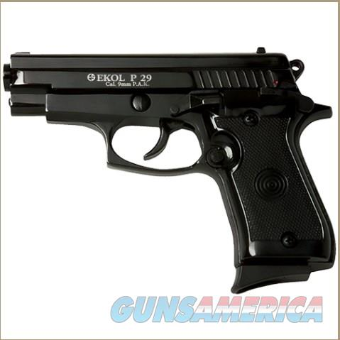 P29 Rev2 Semi Automatic Blank Firing Pistol Matte BlackFinish  Non-Guns > Hobbies and Collectibles > Scale Models > Other/Misc