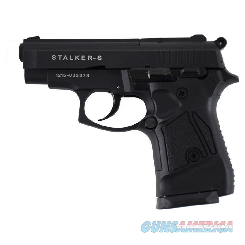 Stalker A914 Black Finish - Full Automatic 9mm Blank Firing Replica Gun  Non-Guns > Hobbies and Collectibles > Scale Models > Other/Misc