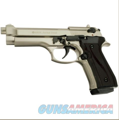 Jackal Full Automatic Blank Firing Gun Satin Finish  Non-Guns > Hobbies and Collectibles > Scale Models > Other/Misc