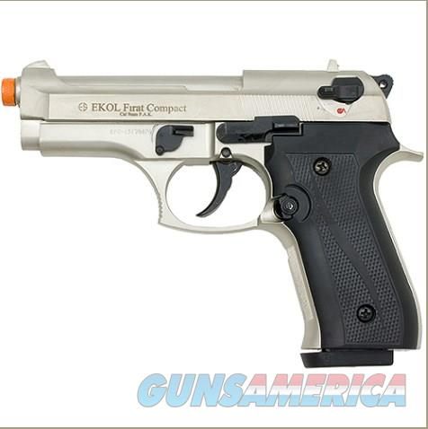 Firat Compact 92 Front Firing Blank Gun Satin Finish  Non-Guns > Hobbies and Collectibles > Scale Models > Other/Misc