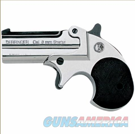 Old West Replica Nickel .22 Caliber Blank Firing Derringer  Non-Guns > Hobbies and Collectibles > Scale Models > Other/Misc