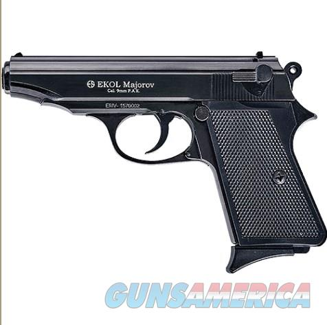 Majarov Semi Automatic Blank Firing Pistol Matte Black Finish  Non-Guns > Hobbies and Collectibles > Scale Models > Other/Misc