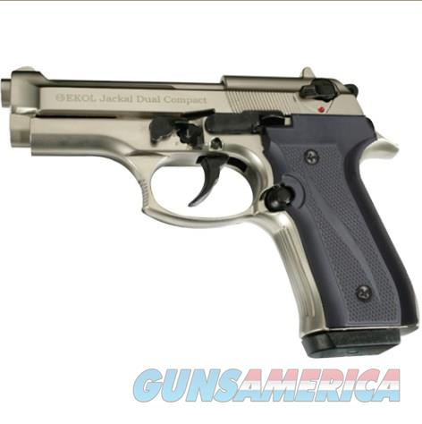 Jackal Compact Full Automatic Blank Firing Gun Satin Finish  Non-Guns > Hobbies and Collectibles > Scale Models > Other/Misc