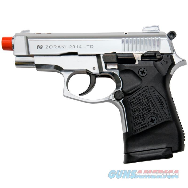 Zoraki M2914 Chrome Finish 9mm Front Firing Blank Gun  Non-Guns > Hobbies and Collectibles > Scale Models > Other/Misc