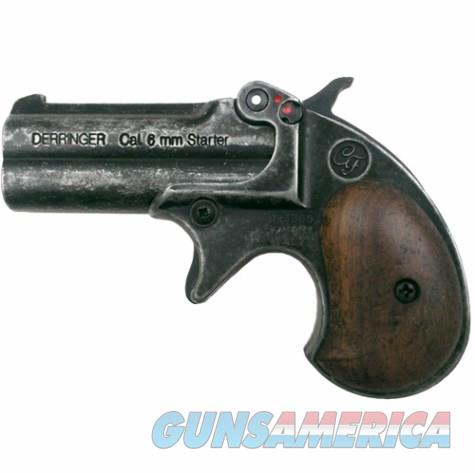 Old West Replica .22 Caliber Blank Firing Derringer Antiqued Finish  Non-Guns > Hobbies and Collectibles > Scale Models > Other/Misc