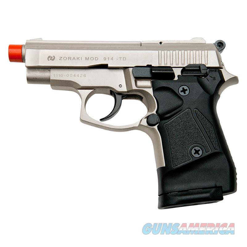 Zoraki Front Firing M914 Satin Finish 9mm Blank Gun Pistol  Non-Guns > Hobbies and Collectibles > Scale Models > Other/Misc