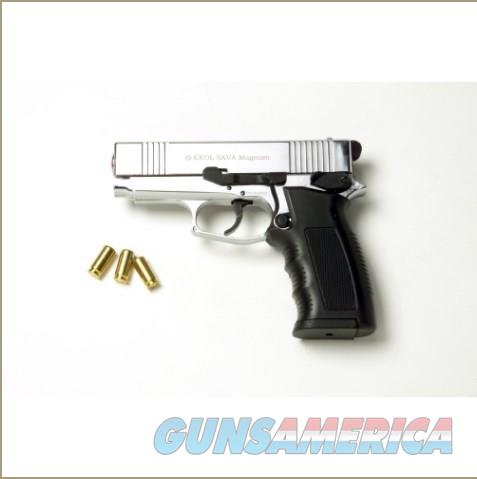 Sava Magnum Blank Firing Pistol Nickel Finish  Non-Guns > Hobbies and Collectibles > Scale Models > Other/Misc