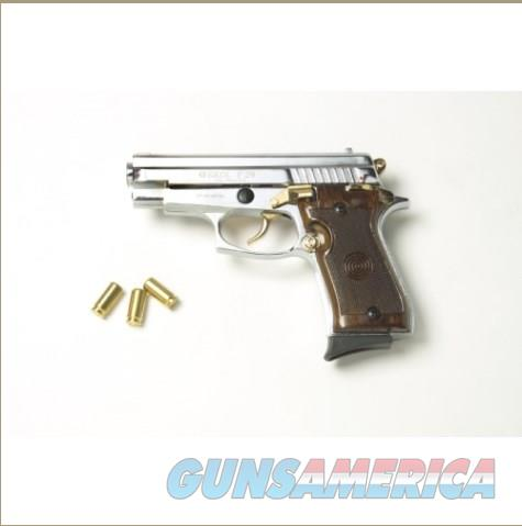 P29 Semi Automatic Blank Firing Pistol Nickel-Gold Finish  Non-Guns > Hobbies and Collectibles > Scale Models > Other/Misc