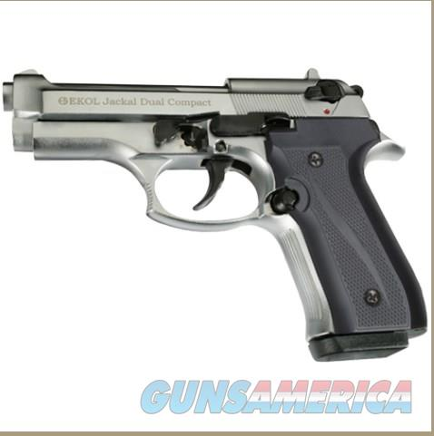 Jackal Compact Full Automatic Blank Firing Gun Chrome Finish  Non-Guns > Hobbies and Collectibles > Scale Models > Other/Misc