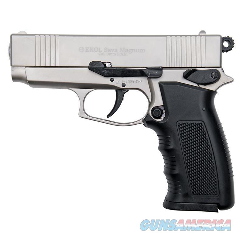 Sava Magnum Blank Firing Replica Pistol Satin Finish  Non-Guns > Hobbies and Collectibles > Scale Models > Other/Misc