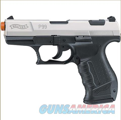 Walther Two Tone P99 Blank Firing Automatic Pistol  Non-Guns > Hobbies and Collectibles > Scale Models > Other/Misc