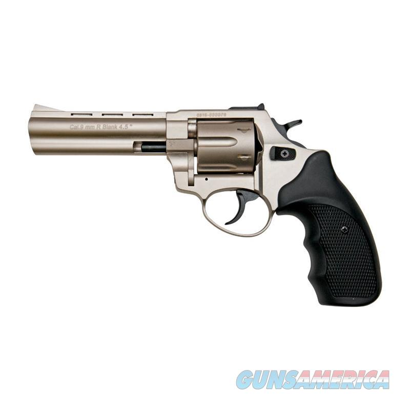 "Stalker R1 4.5"" Barrel Revolver Satin Finish - 9mm Zoraki Blank Firing Gun  Non-Guns > Hobbies and Collectibles > Scale Models > Other/Misc"