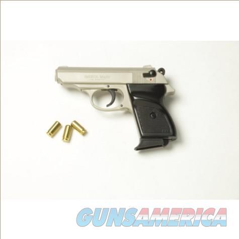 Major Semi Automatic Blank Firing Pistol Satin Finish  Non-Guns > Hobbies and Collectibles > Scale Models > Other/Misc