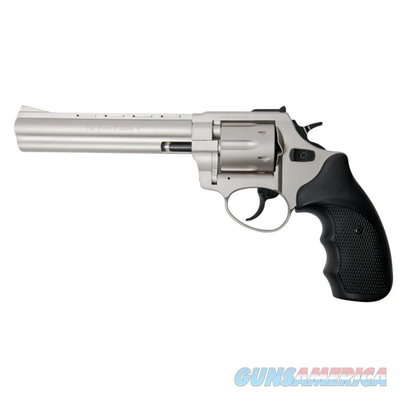"Stalker R1 6"" Barrel Revolver Satin Finish - 9mm Zoraki Blank Firing Gun  Non-Guns > Hobbies and Collectibles > Scale Models > Other/Misc"