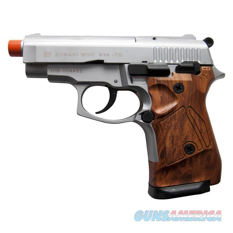 Zoraki Front Fire Silver M914 Full Auto 9mm Blank Gun Machine Pistol  Non-Guns > Hobbies and Collectibles > Scale Models > Other/Misc