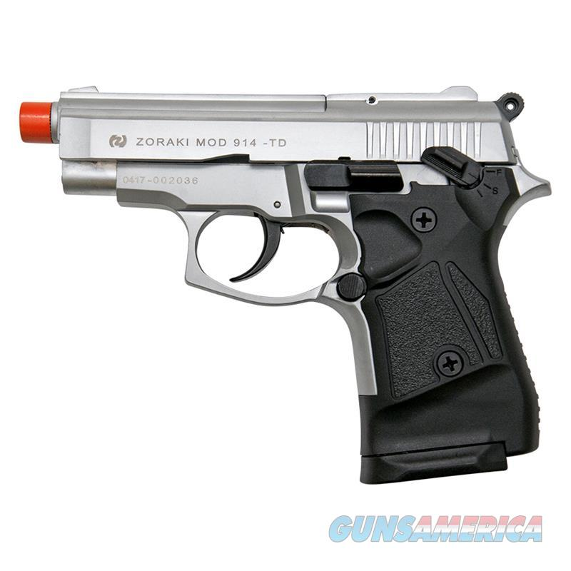 Zoraki Front Firing M914 Silver Finish 9mm Blank Gun Pistol  Non-Guns > Hobbies and Collectibles > Scale Models > Other/Misc
