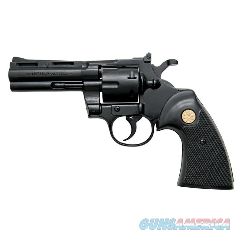 Kimar PYTHON Black Finish 9mm Blank Firing Revolver  Non-Guns > Hobbies and Collectibles > Scale Models > Other/Misc