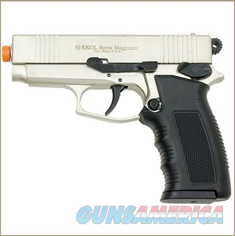 Sava Magnum Front Firing Blank Pistol Satin Finish  Non-Guns > Hobbies and Collectibles > Scale Models > Other/Misc