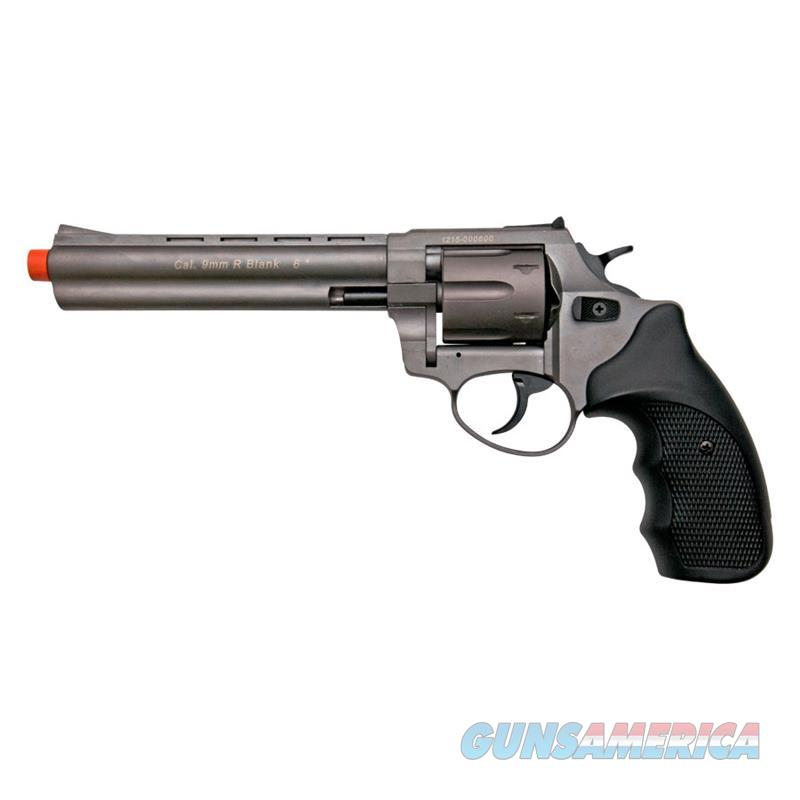 "Stalker R1 6"" Barrel Revolver Fume Finish - 9mm Zoraki Blank Firing Gun  Non-Guns > Hobbies and Collectibles > Scale Models > Other/Misc"