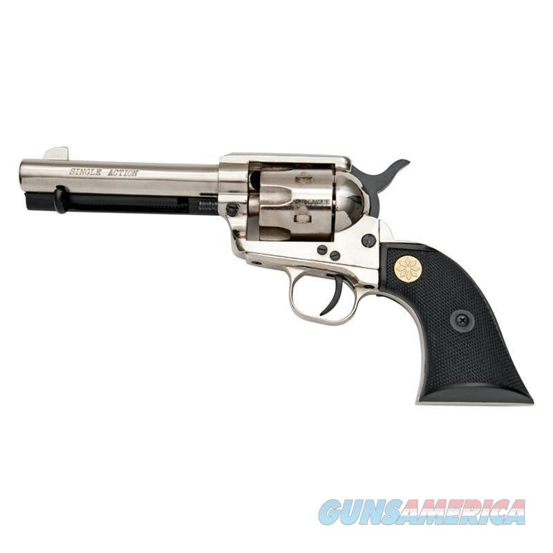 Kimar Old West M1873 9mm Nickel Finish Fast Draw Blank Firing Revolver  Non-Guns > Hobbies and Collectibles > Scale Models > Other/Misc