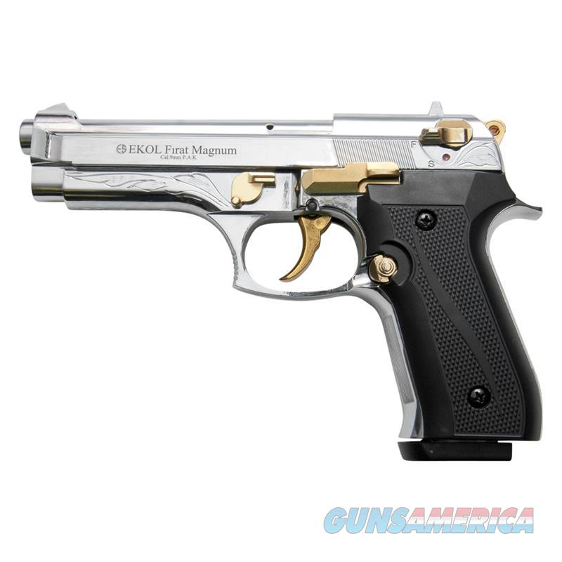 Firat Magnum V92F Gold Engraved With Gold Fittings - Blank Firing Gun  Non-Guns > Hobbies and Collectibles > Scale Models > Other/Misc