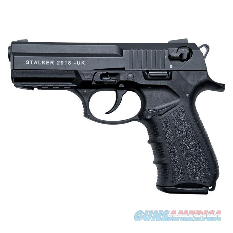 Stalker 2918 Black Finish - 9mm Blank Firing Replica Zoraki Gun  Non-Guns > Hobbies and Collectibles > Scale Models > Other/Misc