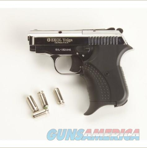Volga Blank Firing Replica 9mm Nickel Finish Gun  Non-Guns > Hobbies and Collectibles > Scale Models > Other/Misc