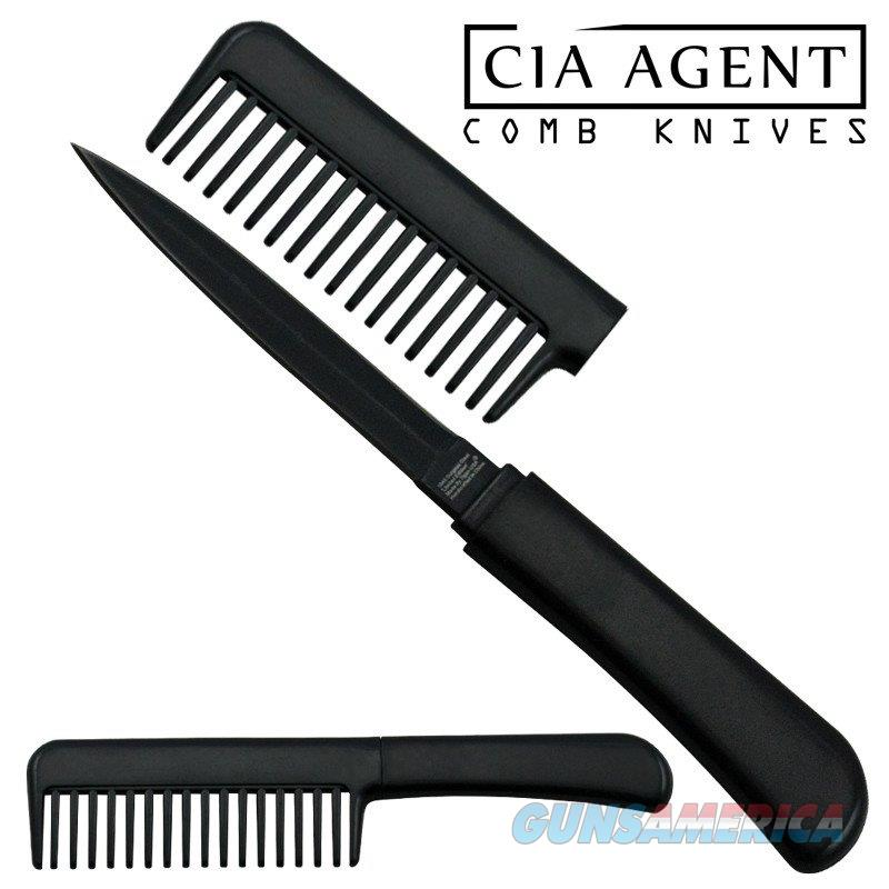CIA Agent Comb Knife (Black) Free Shipping  Non-Guns > Knives/Swords > Knives > Fixed Blade > Imported