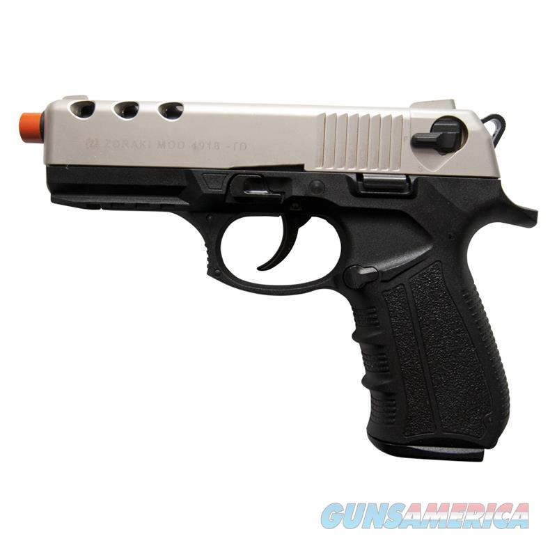 Zoraki 4918 Satin Finish Front Firing Blank Gun  Non-Guns > Hobbies and Collectibles > Scale Models > Other/Misc