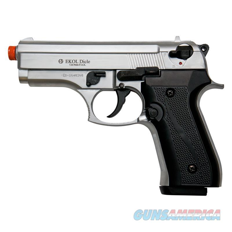COUGAR Front Firing Blank Pistol Nickel Finish  Non-Guns > Hobbies and Collectibles > Scale Models > Other/Misc