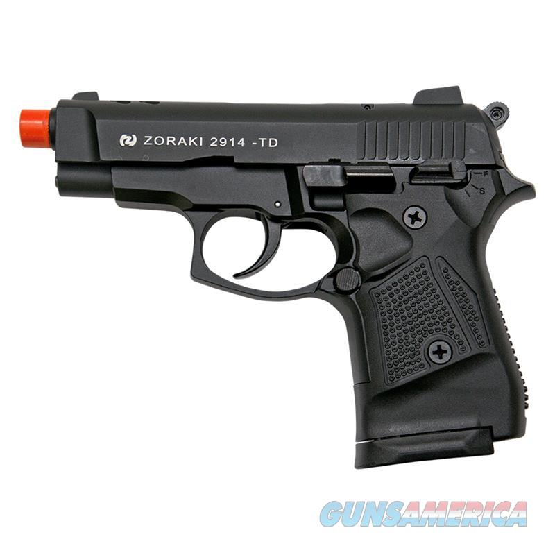 Zoraki M2914 Black Finish 9mm Front Firing Blank Gun  Non-Guns > Hobbies and Collectibles > Scale Models > Other/Misc