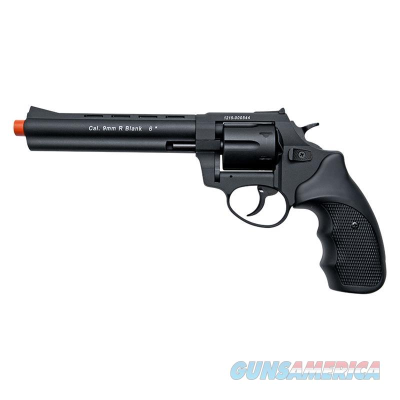 "Stalker R1 6"" Barrel Revolver Black - 9mm Zoraki Blank Firing Gun  Non-Guns > Hobbies and Collectibles > Scale Models > Other/Misc"
